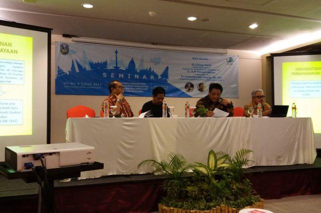 Seminar DKJT tentang Pemajuan Kebudayaan
