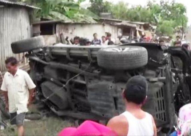 Satu Keluarga Tewas Diseruduk Kereta Api Tanjung