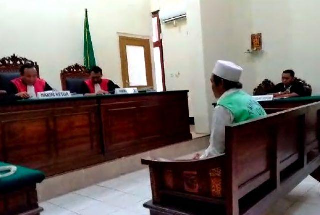 Hakim Tetap Hukum Nofriantono 5 Tahun Penjara