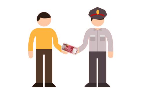 Peras Warga Rp 20 Juta, 4 Polisi Dipropamkan
