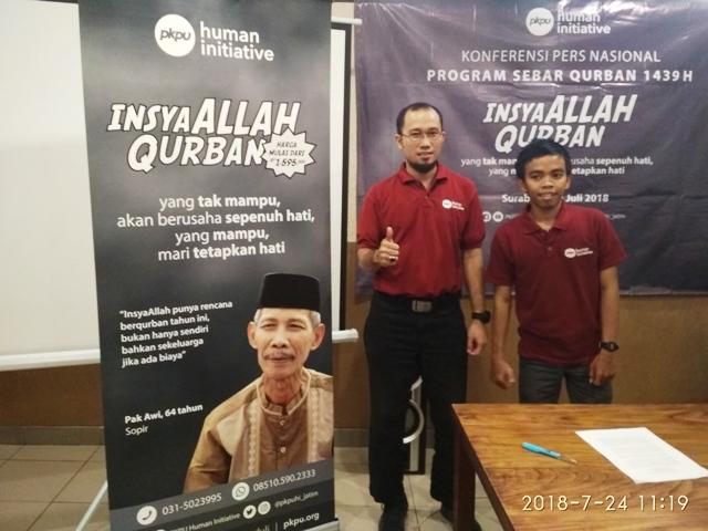 PKPU Human Initiative 'Insyaallah Qurban'