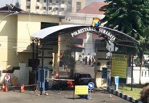Bom 2 Kali Meledak di Polrestabes Surabaya