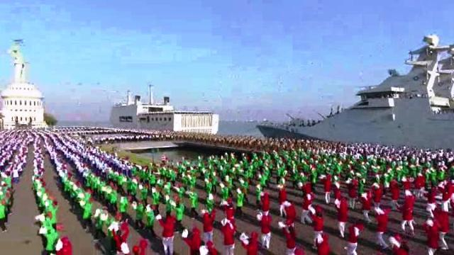 Tari Gemu Famire TNI Pecahkan Rekor Muri