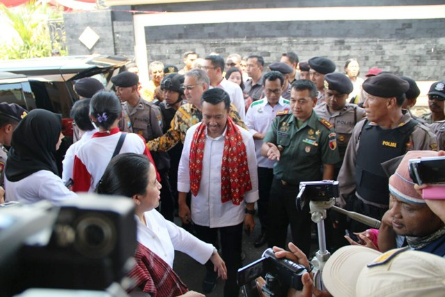 Kirab Pemuda Nusantara Berakhir di Blitar
