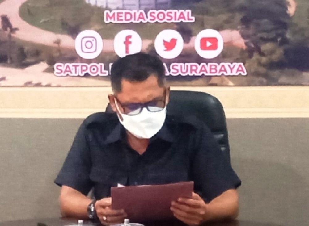 Anggota Arogan, Kasatpol PP Surabaya Minta Maaf