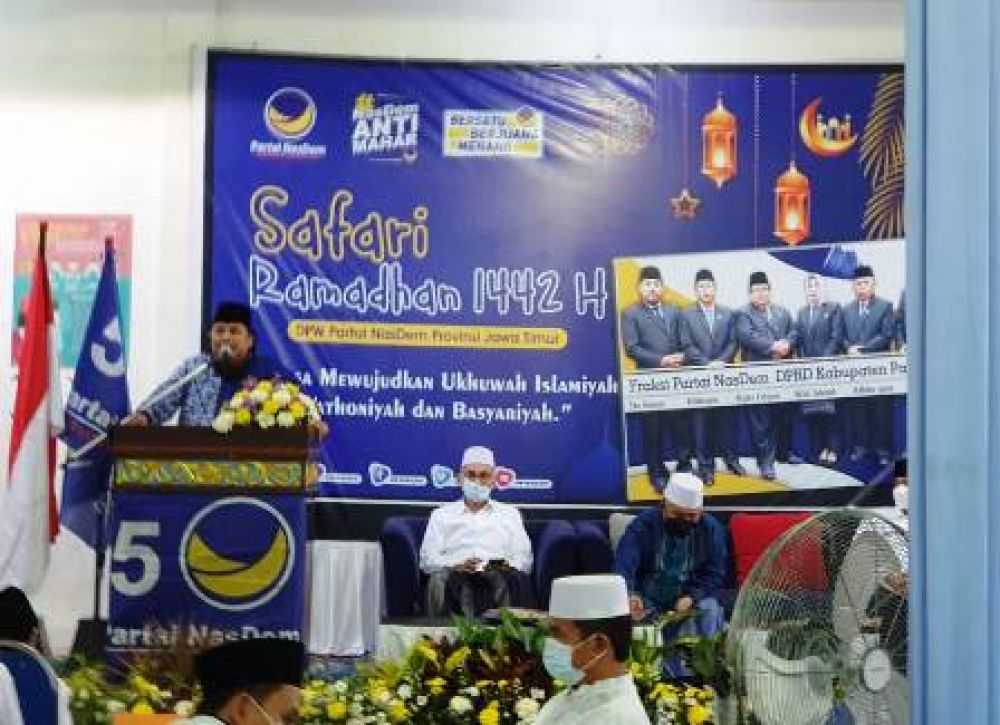Muzammil Syafi'i Ingin Partai Nasdem Jadi Religius