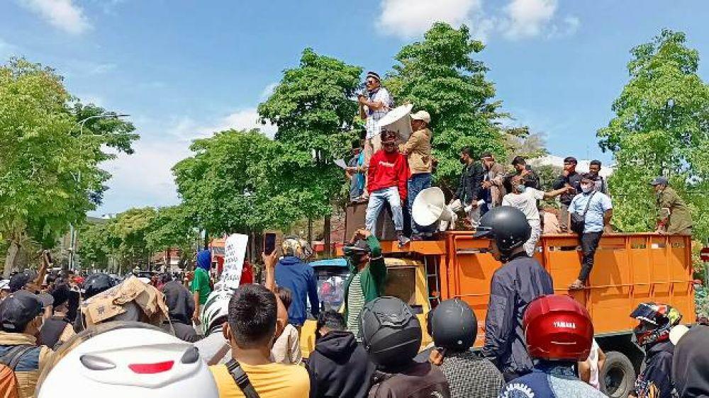3 Tuntutan Demonstrasi Akbar Madura Melawan