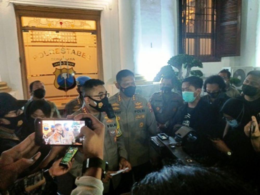 Perwira Polrestabes Surabaya Pesta Narkoba