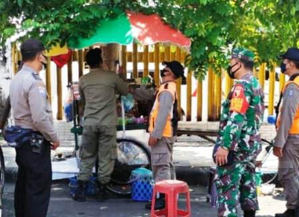 2 Wilayah Jadi Sasaran Penertiban PKL di Surabaya