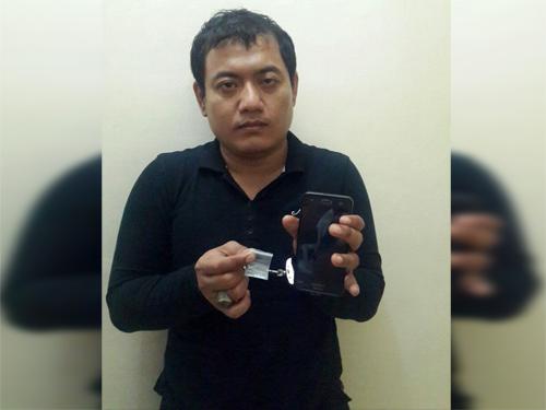 Urung Nyabu Ditangkap Polisi