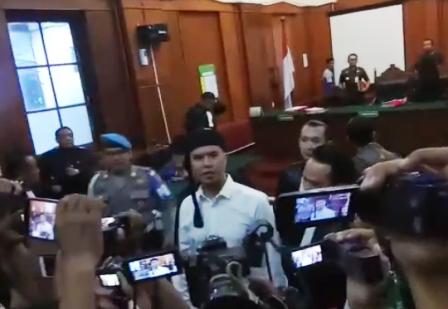 Dhani Ahmad Prasetyo Dituntut 1 Tahun 6 Bulan
