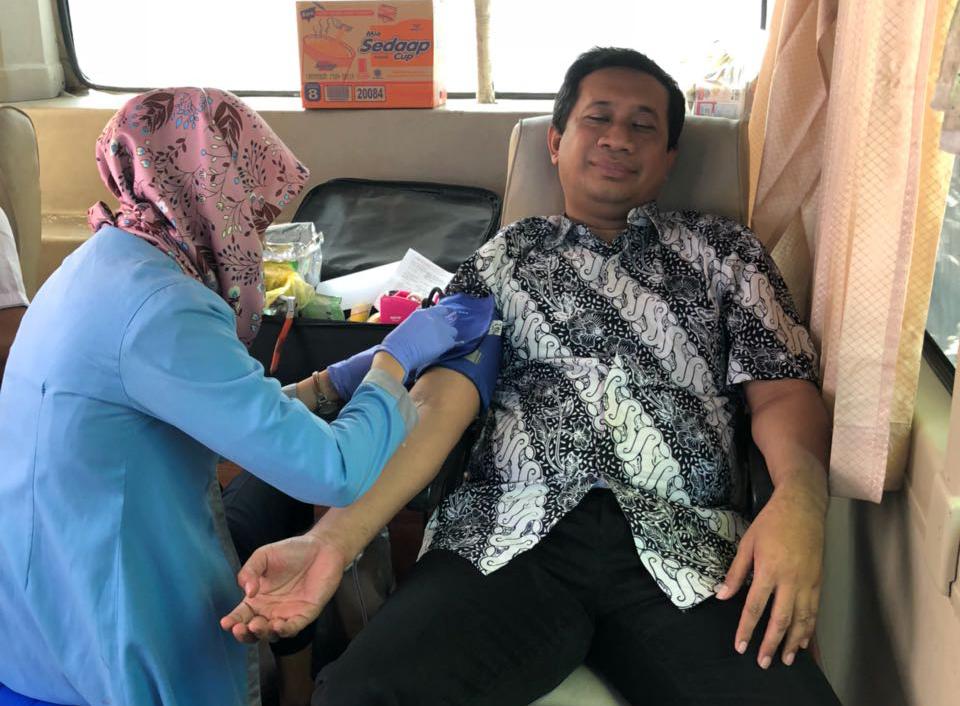 Sambut Ramadhan, Jatim Graha Utama Gelar Donor Darah