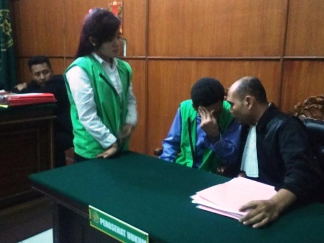 Diputus 13 Tahun Penjara, Dua Sejoli Sabu Banding
