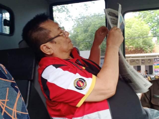 Heri Kuncoro Dilayar ke Rutan Medaeng
