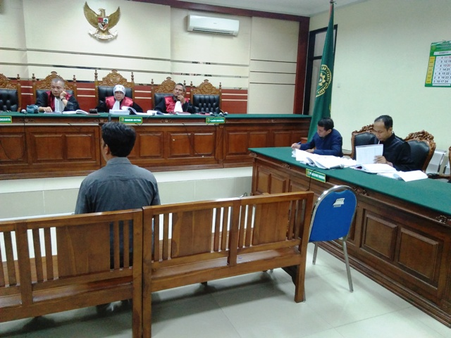 Saksi Pelaksana Proyek Beratkan Kepala Desa