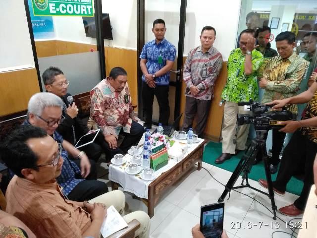 PN Surabaya  Sosialisasi Program E-Court