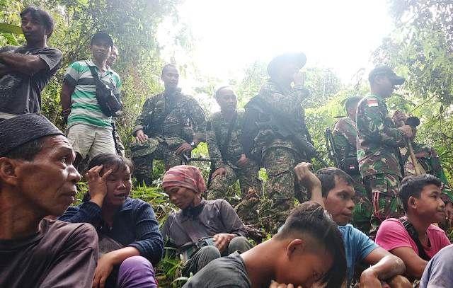 25 WNI Ditangkap Tentara Diraja Malaysia