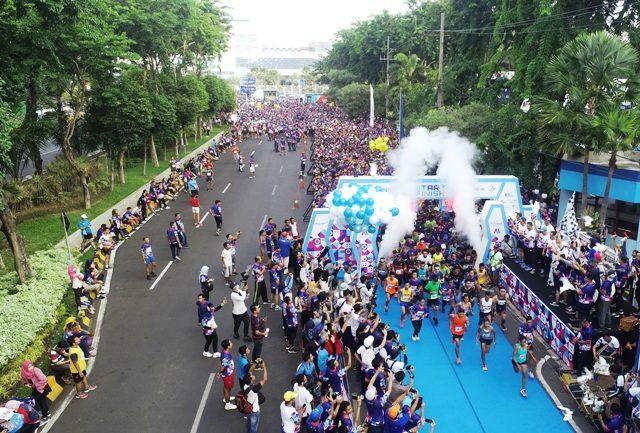 5000 Pelari Meriahkan Pelindo III Port Run 2019