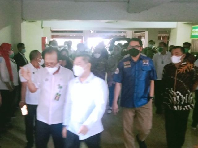 Anggota Komisi III DPR RI Sambangi PN Surabaya
