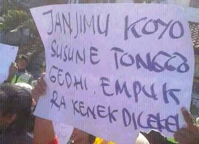 Bantuan Covid 19 di Surabaya Belum Terealisasi