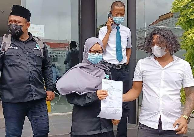GPD Dampingi Pendekar Pagar Nusa Lapor Polisi