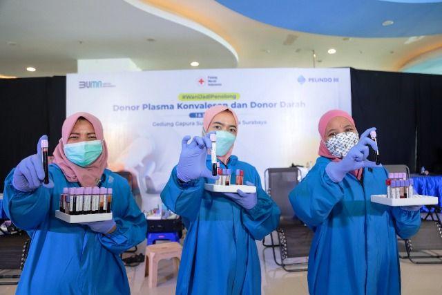 Pelindo III Kembali Galang Donor Plasma Konvalesen