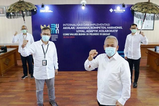 Internalisasi Akhlak, Pelindo 3 Cetak Rekor Muri