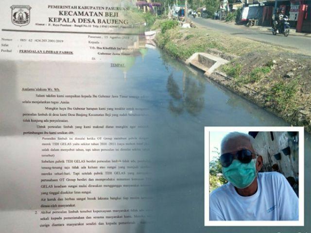 Kades Bujeng Laporkan PT CS2 ke Gubernur Jatim