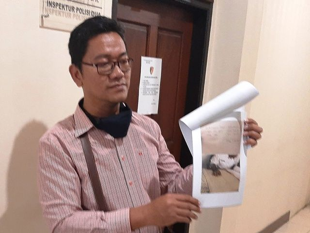 Kades Pungli Dilaporkan ke Polres Pasuruan