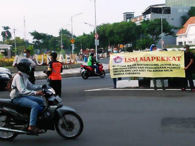 LSM di Surabaya Menyoal Aset Triliunan Rupiah