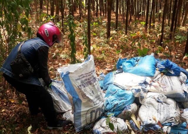 Limbah yang Dibuang ke Hutan Diambil PT Indolakto
