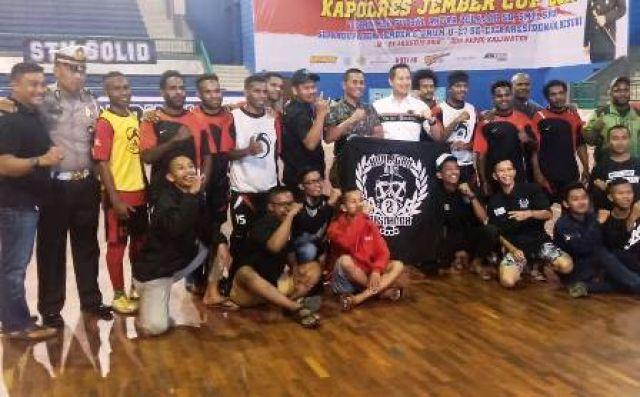 Pelajar & Mahasiswa Papua di Jember Ikut Agustusan
