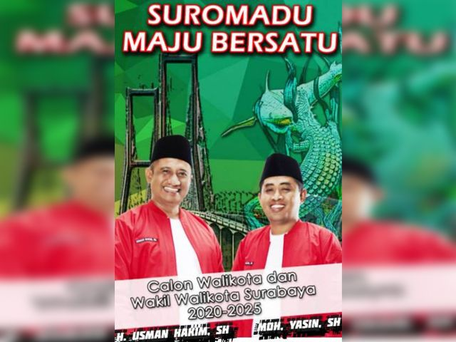 Mengenal Hakim & Yasin Cawali Independen Surabaya