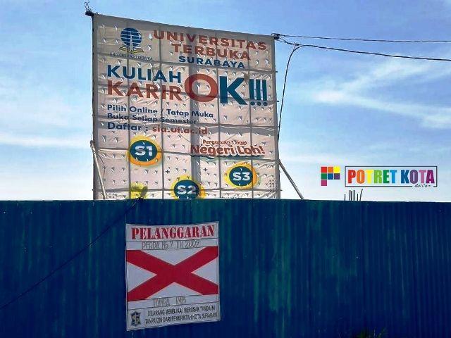 Proyek Miliaran Rupiah UT Surabaya Bermasalah
