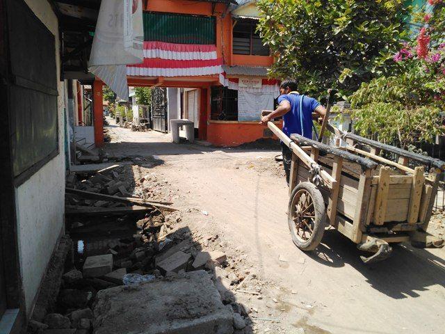 Proyek Got Rungkut Kidul Rp 462 Juta Amburadul