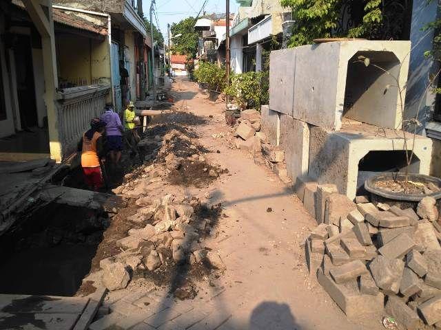 Proyek Rungkut Kidul Rp 462 Juta Terindikasi Korupsi