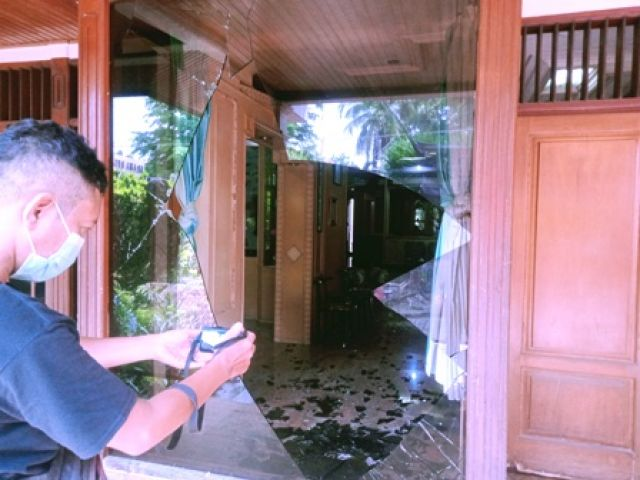 Rumah Alex Hongkay Wijoyo Dirusak OTK