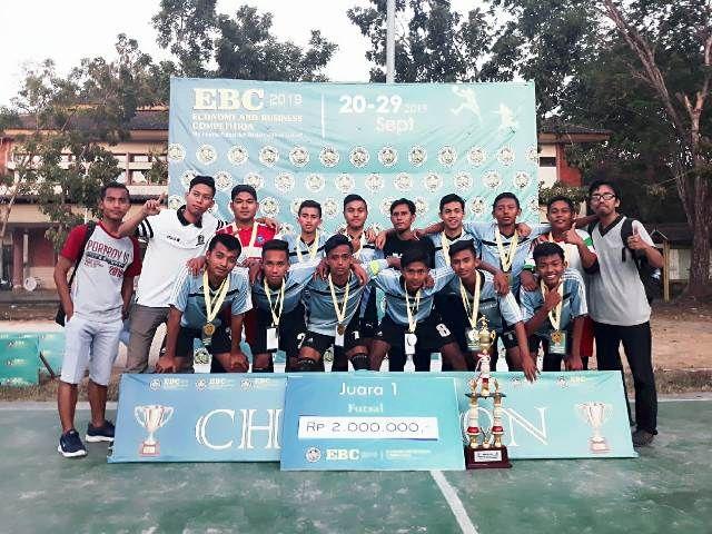 SMA Negeri 1 Ketapang Juara Futsal EBC 2019