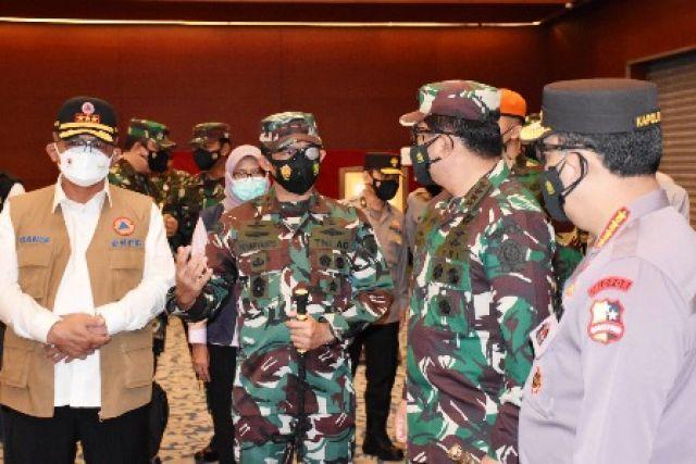 2.014 Pasukan 3 Matra TNI Kawal PPKM Darurat