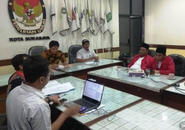 Bahas Pilwali, Hakim dan Yasin Sowan ke KPU