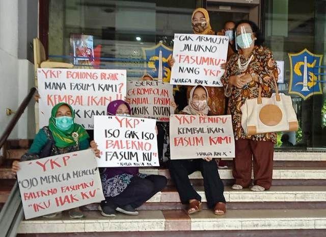 Warga Rungkut Minta Mafia Fasum YKP Masuk Rutan