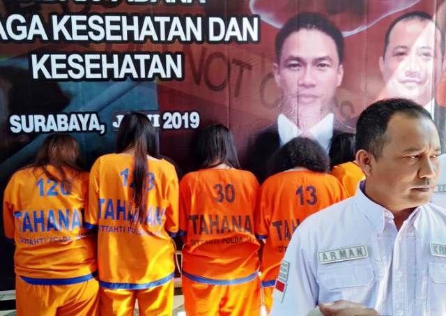 Eksekutor Aborsi Tertangkap di Hotel Surabaya