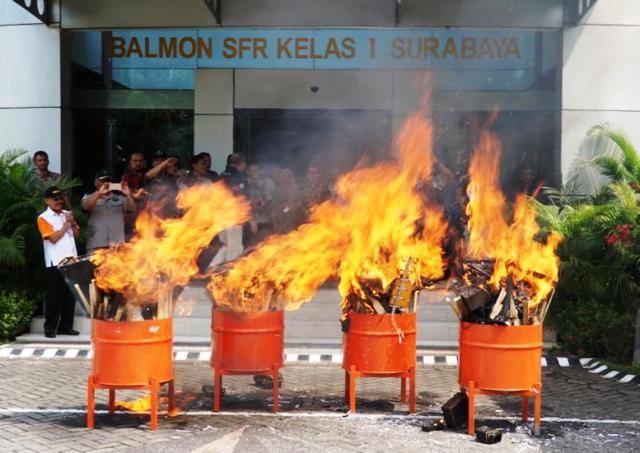 Balmon SFR Musnahan 231 Alat Frekuensi Ilegal