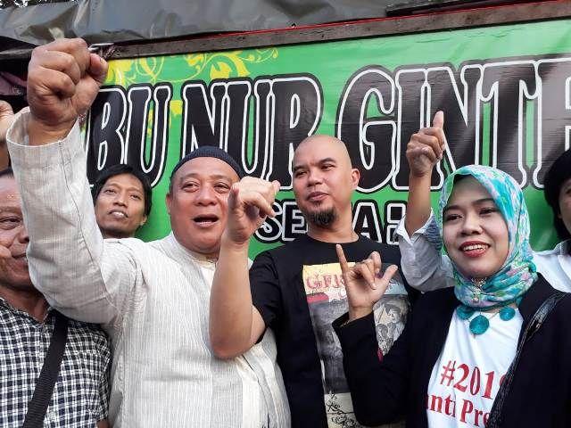 Dhani: Deklarasi #2019GantiPresiden tak Perlu Izin