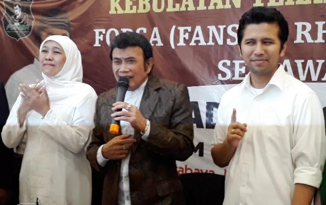 Rhoma Irama Dukung Khofifah-Emil