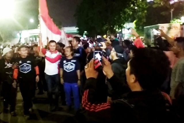 Acara Mojosuro Merah Putih 178 Meter Dibentangkan