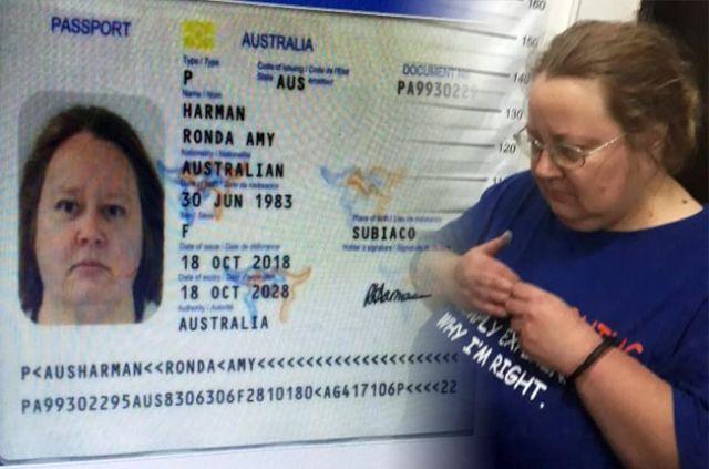 Harman Ronda Amy Dipulangkan ke Australia