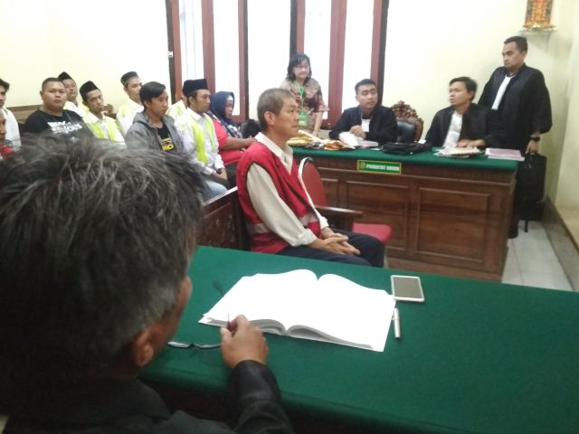 Hakim Pertanyakan Surat Pemusnahan Sabu Malaysia