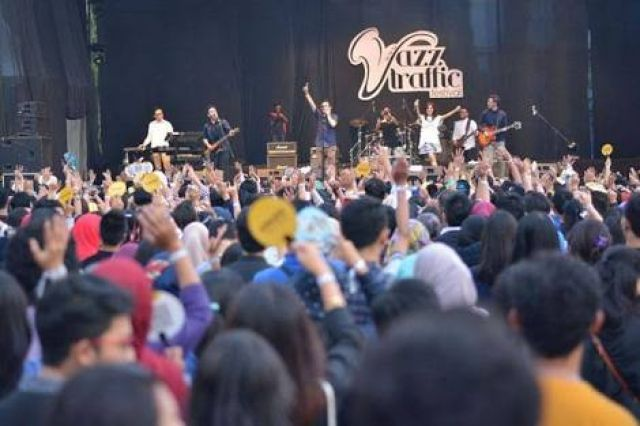 Jazz Traffic Festival 2018 Usung Konsep Rock