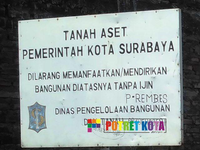 Tanah Aset Pemkot Surabaya Dibuat Judi Ayam